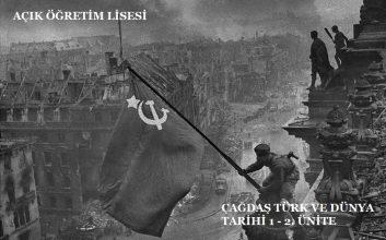 AÖL Seçmeli Çağdaş Türk ve Dünya Tarihi 2 Kitabı