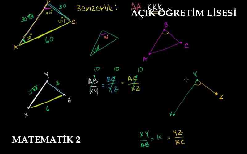 AÖL Matematik 2 Dersi