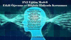 2X2 Eğitim Modeli Nedir?