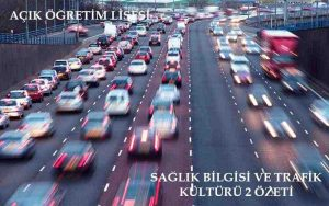 AÖL Sağlık Bilgisi ve Trafik 2 Kitabı