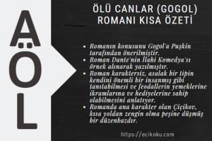 Ölü Canlar (Gogol) Romanı Kısa Özeti