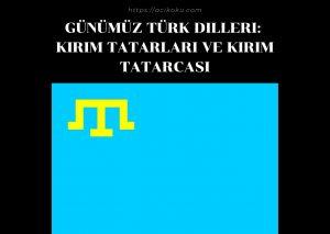 Kırım Tatarları ve Kırım Tatarcası