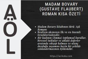 Madam Bovary (Gustave Flaubert) Roman Kısa Özeti